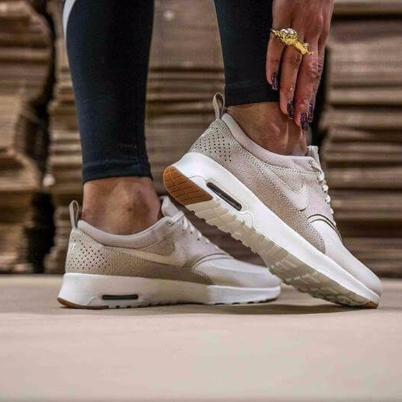 Nike Air Max Thea PRM Light Bone Light Bone 9 NWT